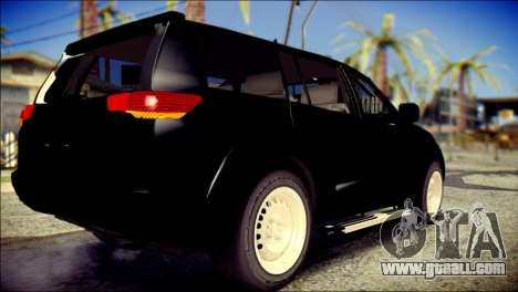 Mitsubishi Pajero Sport Dakar for GTA San Andreas left view