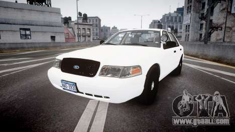 Ford Crown Victoria LCPD Unmarked [ELS] for GTA 4