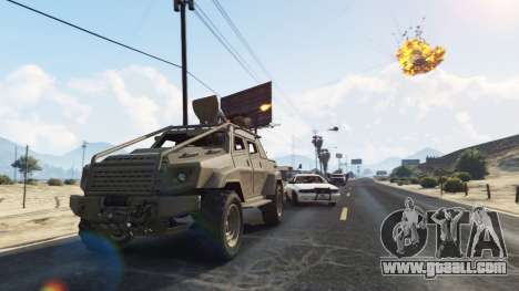 GTA 5 Control Heist Vehicles Solo v1.3 fourth screenshot