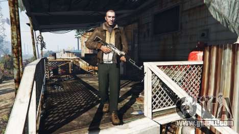 GTA 5 Niko Bellic second screenshot