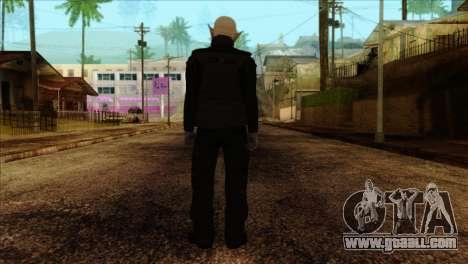 Skin 2 from Heists GTA Online DLC for GTA San Andreas second screenshot