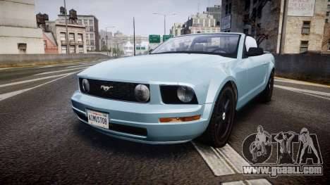 Ford Mustang Convertible Mk.V 2008 for GTA 4