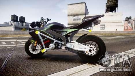 Honda CBR600RR Stunt for GTA 4 left view
