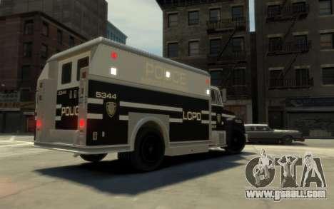 GTA 3 Enforcer HD for GTA 4 left view