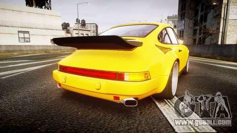 RUF CTR Yellow Bird for GTA 4 back left view