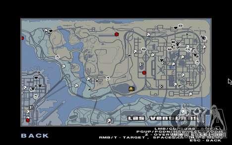 GTA 5 Map Mod v1.3 for GTA San Andreas second screenshot