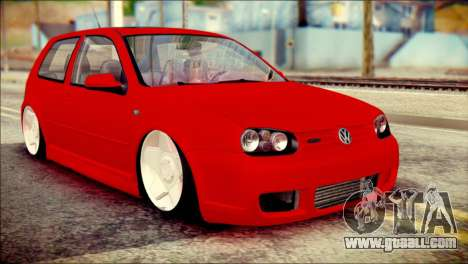 Volkswagen Golf R33 2015 for GTA San Andreas