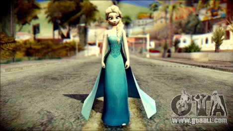 Frozen Elsa v2 for GTA San Andreas