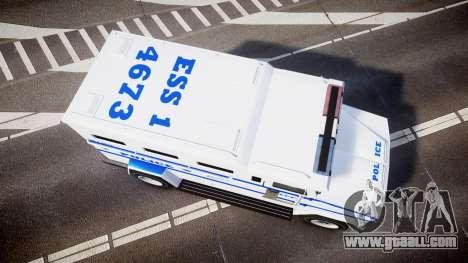 GTA V Brute Police Riot [ELS] skin 4 for GTA 4 right view