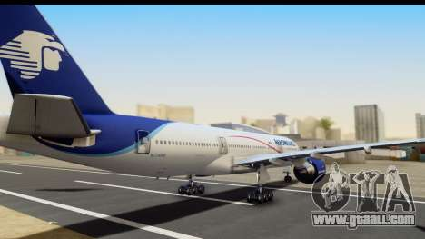 Boeing 777-200ER AeroMexico for GTA San Andreas left view