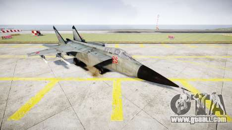 The MiG-25 for GTA 4