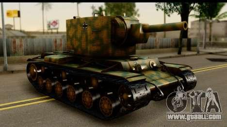KV-2 German Captured for GTA San Andreas