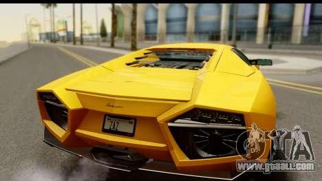 Lamborghini Reventon 2008 for GTA San Andreas right view