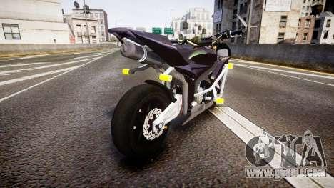 Honda CBR600RR Stunt for GTA 4 back left view