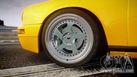 RUF CTR Yellow Bird for GTA 4 back view