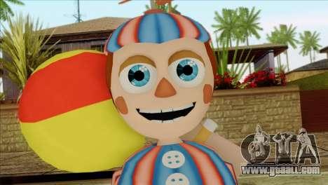 Balloon Boy from Five Nights at Freddys 2 for GTA San Andreas third screenshot