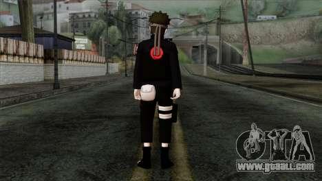Naruto Black Skin for GTA San Andreas second screenshot