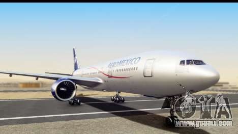 Boeing 777-200ER AeroMexico for GTA San Andreas