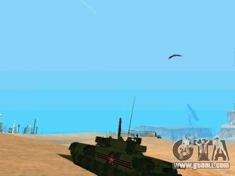 T-80U for GTA San Andreas inner view