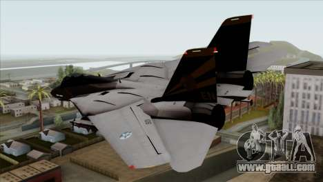 Grumman F-14B VF-193 Lions for GTA San Andreas left view