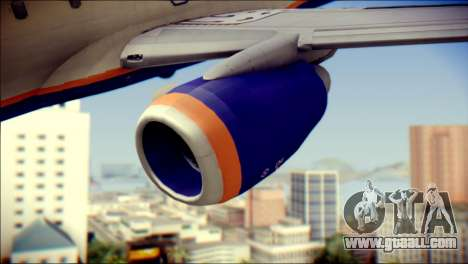 Boeing 737-800 Aeroflot for GTA San Andreas right view
