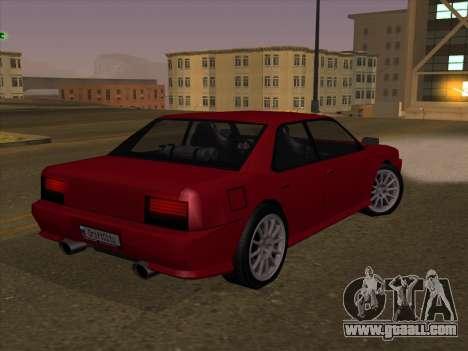 Sultan GunkinModding for GTA San Andreas left view