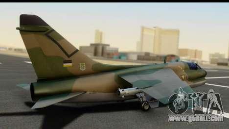 Ling-Temco-Vought A-7 Corsair 2 Belkan Air Force for GTA San Andreas left view