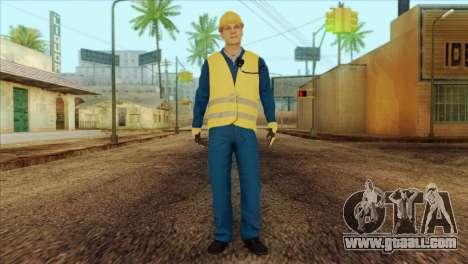 Takedown Redsabre NPC Shipworker v1 for GTA San Andreas