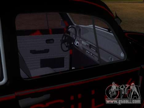 Volkswagen Super Beetle Grillos Racing v1 for GTA San Andreas bottom view