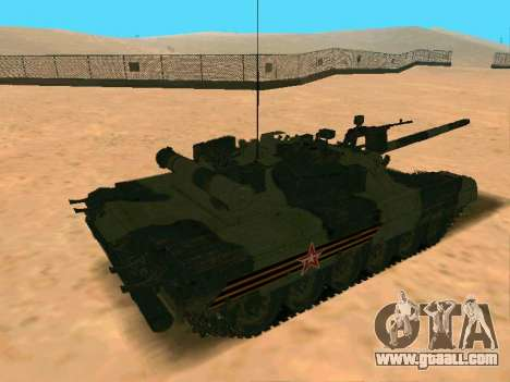 T-80U for GTA San Andreas right view