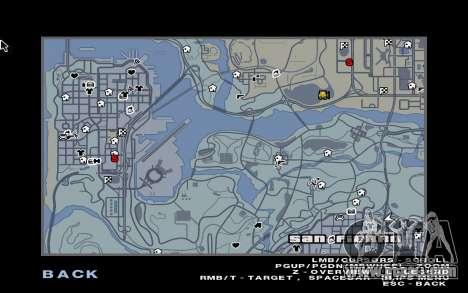 GTA 5 Map Mod v1.3 for GTA San Andreas third screenshot