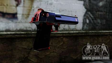 Desert Eagle Criacia for GTA San Andreas second screenshot