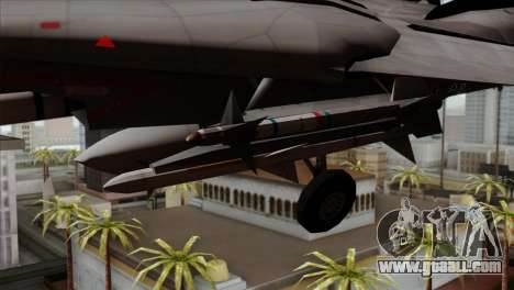 Grumman F-14B VF-193 Lions for GTA San Andreas right view