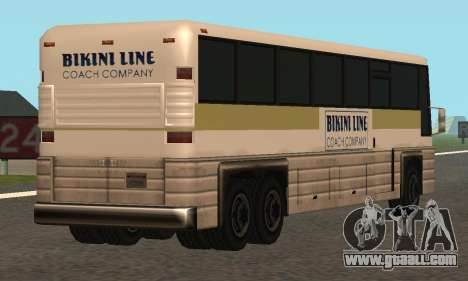 Coach Fixed for GTA San Andreas right view