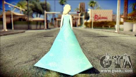 Frozen Elsa v2 for GTA San Andreas second screenshot