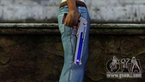 Desert Eagle Criacia for GTA San Andreas third screenshot