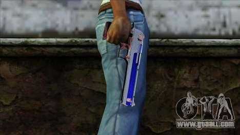 Desert Eagle Criacia for GTA San Andreas third screenshot