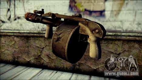Rumble 6 Combat Shotgun for GTA San Andreas second screenshot