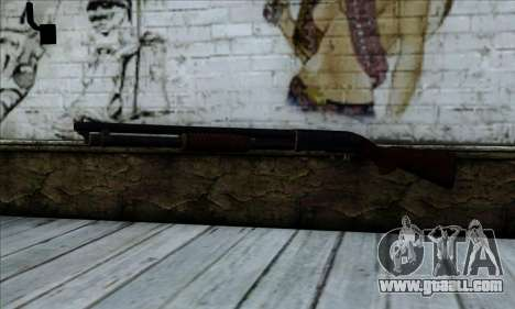 M37 Ithaca Long for GTA San Andreas