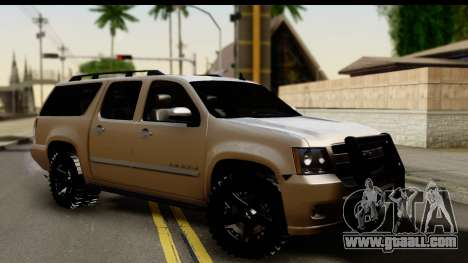 Chevrolet Suburban 4x4 for GTA San Andreas