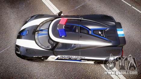 Koenigsegg Agera 2013 Police [EPM] v1.1 PJ3 for GTA 4 right view