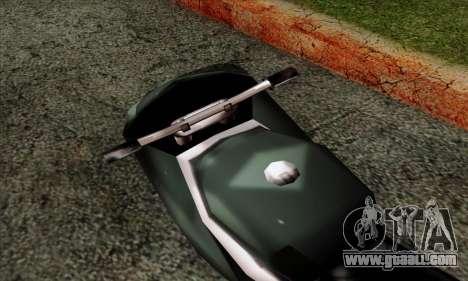 GTA LCS PCJ-600 for GTA San Andreas back view