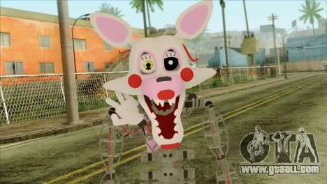 Mangle from Five Nights at Freddy 2 for GTA San Andreas third screenshot