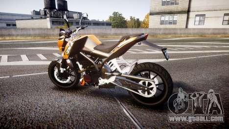 KTM 125 Duke for GTA 4 left view