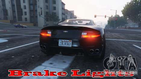 GTA 5 Brake lights