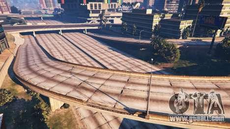 GTA 5 The lack of traffic third screenshot