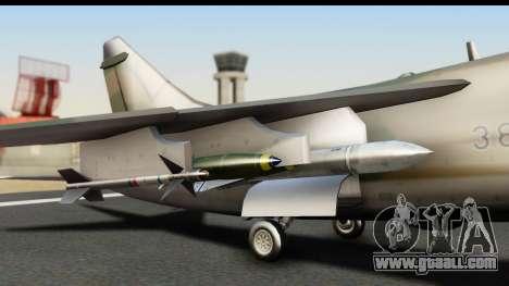 Ling-Temco-Vought A-7 Corsair 2 Belkan Air Force for GTA San Andreas right view