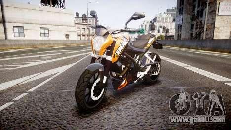 KTM 125 Duke for GTA 4