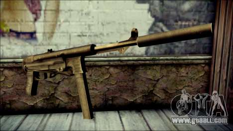 Silenced MP40 from Call of Duty World at War for GTA San Andreas