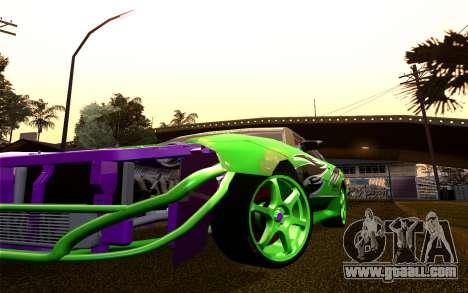 DGTK Elegy v1 for GTA San Andreas inner view